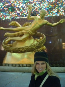 On the Ice at Rockefeller Center